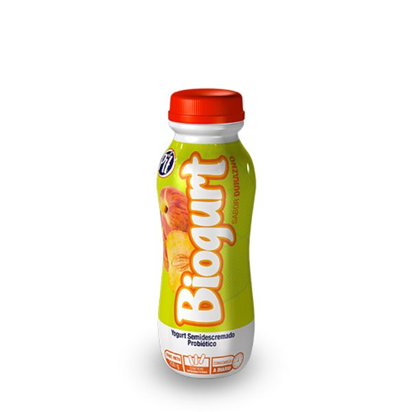 Biogurt con probióticos Durazno 200g