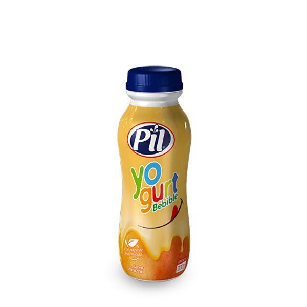 Yogurt bebible de Durazno botella 200g